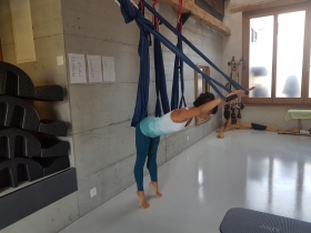 Aerial Pilates - Pilates classes in Geneva, Switzerland - Le Pilates Loft Thônex